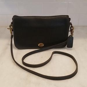 Coach Vintage RARE NYC Penny Pocket Crossbody Bag